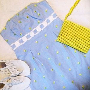 Lilly Pulitzer Lemon and Lace Dress