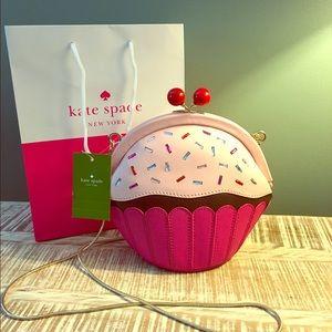 Kate Spade ♠️ Lets Eat Cake Novelty Cross Body NWT
