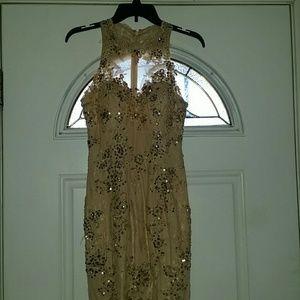 Dresses & Skirts - Beige mermaid style dress