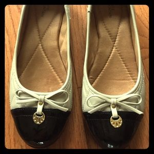 Brand new ballet flats with slight wedge