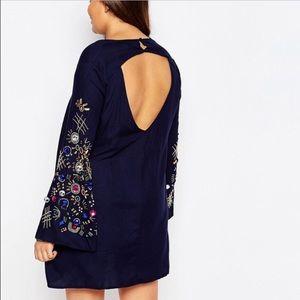 Topshop Dresses & Skirts - Brand new Topshop embellished sleeve dress