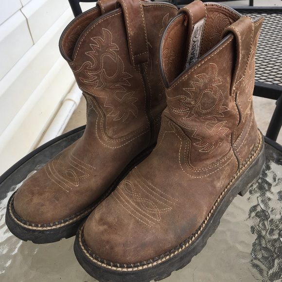 163b1a54bf734 Ladies Ariat Fatbaby boots