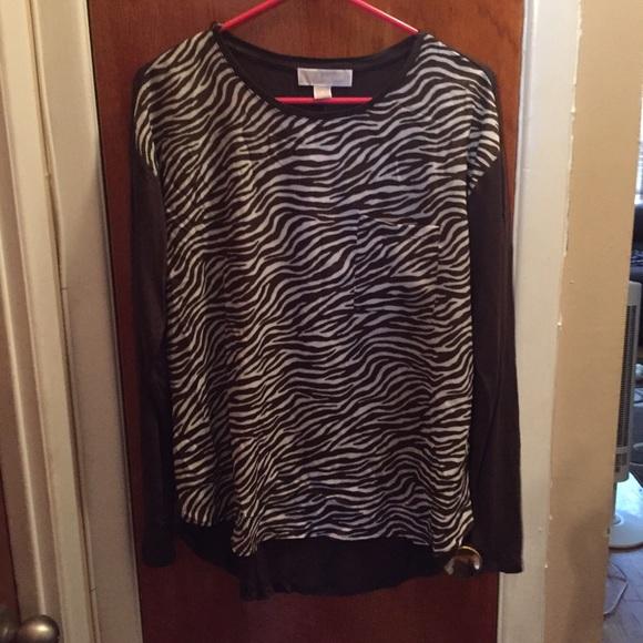 39710e38033e ❗️SALE❗️Michael Kors Brand New Zebra print shirt.