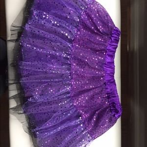 Purple sparkly tutu