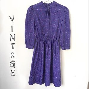 VINTAGE1950's Leslie Fey Dress