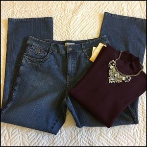 Jeans Coldwster Creek/Sweater Jibes New York