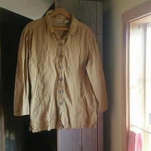 Sunbelt Tops - SUNBELT Linen Tunic Size L