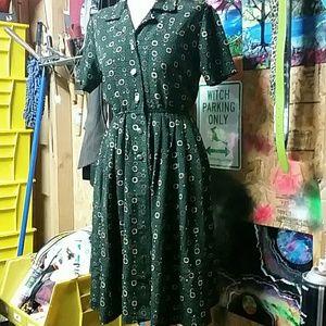 True vintage sz 6 dress