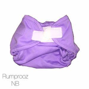 Rumparooz Other - Rumparooz Purple Newborn Cloth Diaper Cover