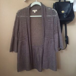 Monsoon Sweaters - Bell Sleeve Cardigan