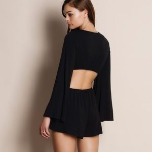 Bare Anthology Pants - 1DAYSALE Cut Out Bell Sleeve Romper