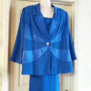 Wedding Formal Night Cruise Suit Blue Size 22
