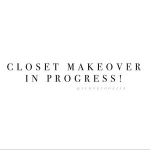 Other - ✨Closet Makeover for Fall!✨