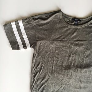 Baseball 2 Stripe Tee Shirt