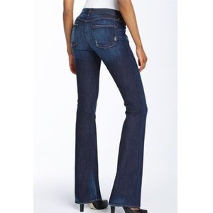 Rich & Skinny boot cut Storm dark denim jeans GUC