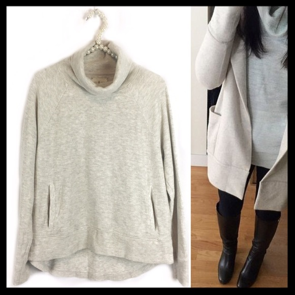 61% off Lou & Grey Sweaters - lou & grey // cowl neck turtleneck ...