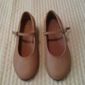 Bloch  Other - Bloch Tap Tan Leather Shoes