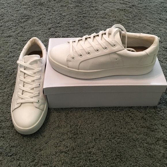 bc54685b780 Steve Madden White Sneakers