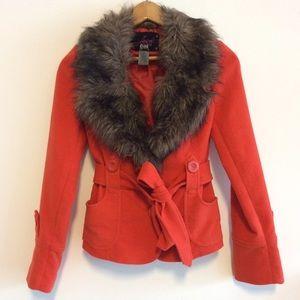 BB Dakota Jackets & Blazers - ❗️New Lower Price BB Dakota Faux Fur Coat NWOT