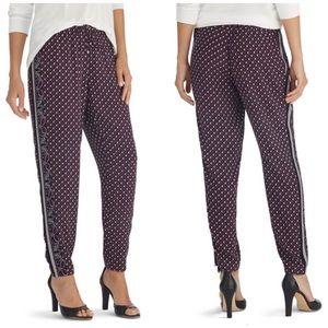White House Black Market Pants - WHBM Casual Drapey Printed Pants