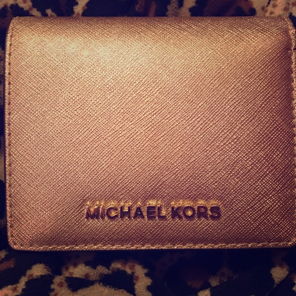 Michael Kors Rose Gold small Wallet