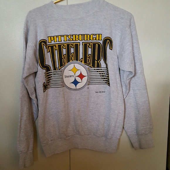 best service f844a 87396 Vintage Pittsburgh Steelers Sweatshirt