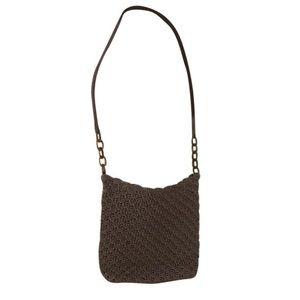 The Sak Handbags - The Sak Taupe Crochet Bag
