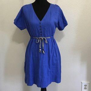 J. Crew Dresses & Skirts - J. Crew Cobalt Cinch Waist Dress