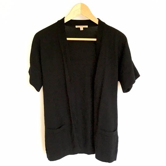 Uniqlo Sweaters - Uniqlo Short Sleeve Merino Wool Cardigan