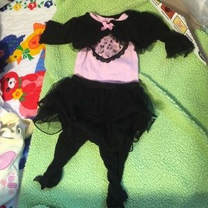 Baby Starters Other - Cute pink and black 0-3 month outfit