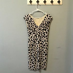 Maggy London Black and White Dress