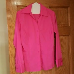 Last Chance Worthington blouse. Bright pink. 8