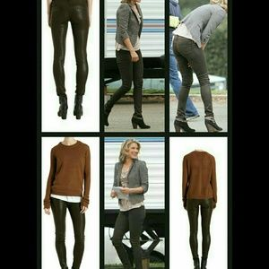 James Jeans Denim - James jeans TWIGGY Legging COATED skinny
