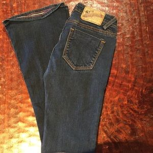 "Vigoss ""The Jagger"" Flare Jean Size 0/25"