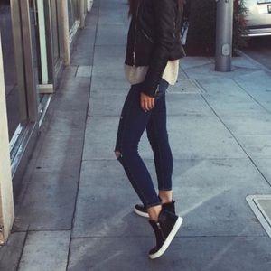 Officine Creative Shoes - Officine Creative Italian Leather High Top Sneaker
