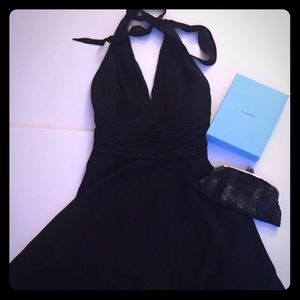 Gorgeous Night on the town silk black dress size 4