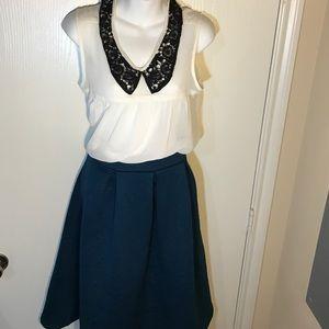 Kaii Dresses & Skirts - Teal flare skirt!