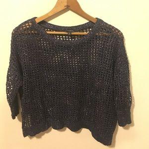 Navy express sweater