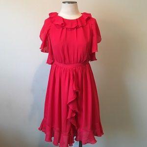 Prabal Gurung for Target Dresses & Skirts - Prabal Gurung for Target- Red Ruffle Dress Size 6