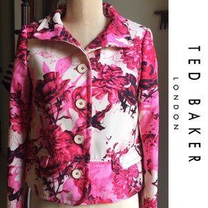 Ted Baker London Jackets & Blazers - STUNNING TED BAKER KIIM floral jacket