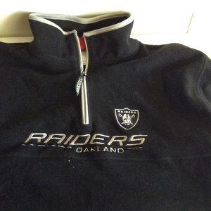 NFL Other - Men's NFL OAKLAND RAIDERS FLEECE PULLOVER Jacket