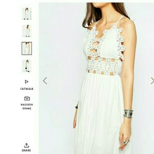 Tall White Maxi Dress