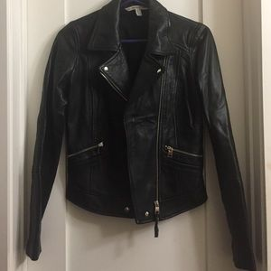 Zara Faux-Leather Jacket