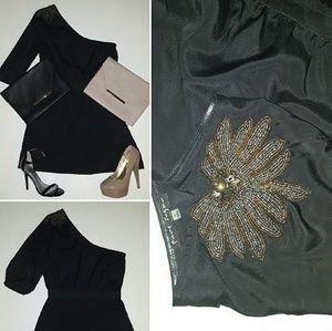 Dresses & Skirts - EUC Pure Sugar embellished 1 shldr dress, sz M.