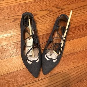 GAP denim flats