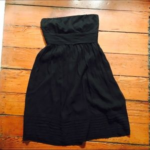 NEW jcrew black sleeveless bridesmaids dress