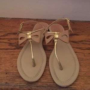 Kate spade thong sandal with bow