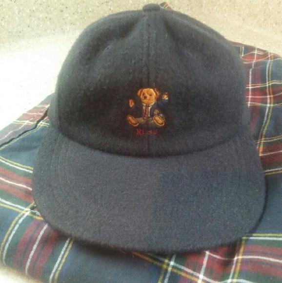 Vintage Blue Polo Bear RL Hat. M 581943cd8f0fc448b80354c6 f7f011bbd3e