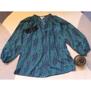 Tucker Tops - Tucker for Target Signature Blouse in Mosaic SzM