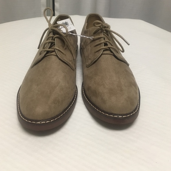 Old Navy Tan Suede Buck Shoe   Poshmark